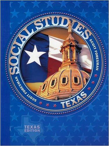 Scott Foresman Social Studies Texas Edition