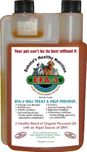 Dakota's Organic Omega 3 Oil for Dogs