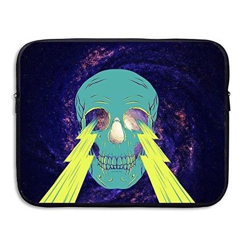 BANA Custom Lightning Skull Waterproof Tablet Zipper Bag 13 (Costumes On Sims 3 Seasons)