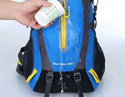 Hombres Agua A blue De Caminando Mochila Mujeres Lqabw 40l Reducido Red Montar Los Hombro Prueba Y Viaje Montañismo UwcF7q4W5