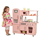 Best Play Kitchens - Kidkraft Vintage Kitchen in Pink Review