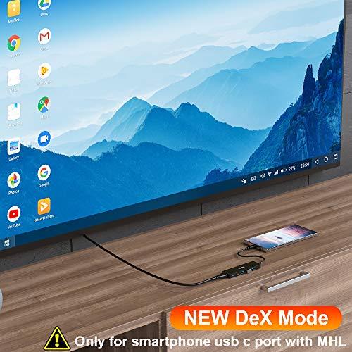 TSUPY Hub USB C 5 in 1 Adattatore USB C HDMI 4K PD 100W 3 USB 3.0 USB C Hub Docking Station USB C to USB C Adattatore USB C USB HDMI USB C Adattatore USB C USB per MacBook PRO ECC.