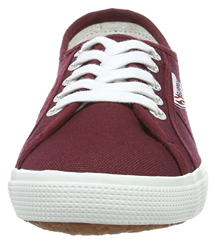Superga 2950 Cotu - Sneakers unisex, Rosso (Dark Bordeaux), 40