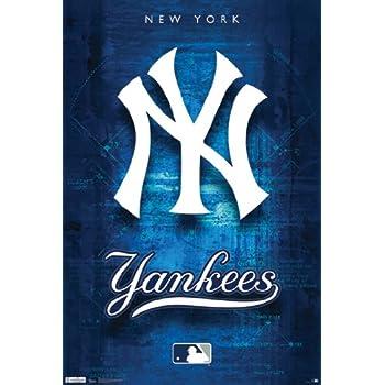 NY Yankees 24  x 36  Poster Print  sc 1 st  Amazon.com & Amazon.com: NY Yankees 24