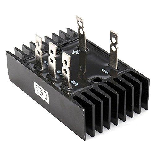 FidgetGear Bridge Rectifier Module WST3 150A 1000-1600V SQL150A Black Three Phase Diode