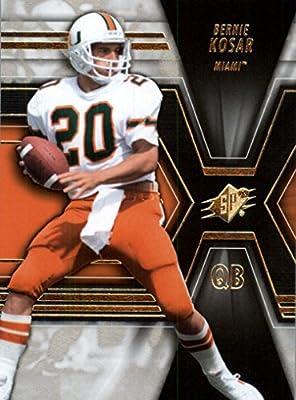 2014 SPx #30 Bernie Kosar - Hurricanes / Cleveland Browns (Football Cards)