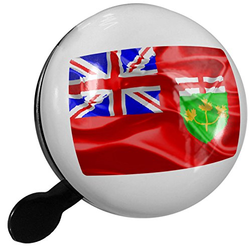 Small Bike Bell Ontario 3D Flag region: Canada - NEONBLOND