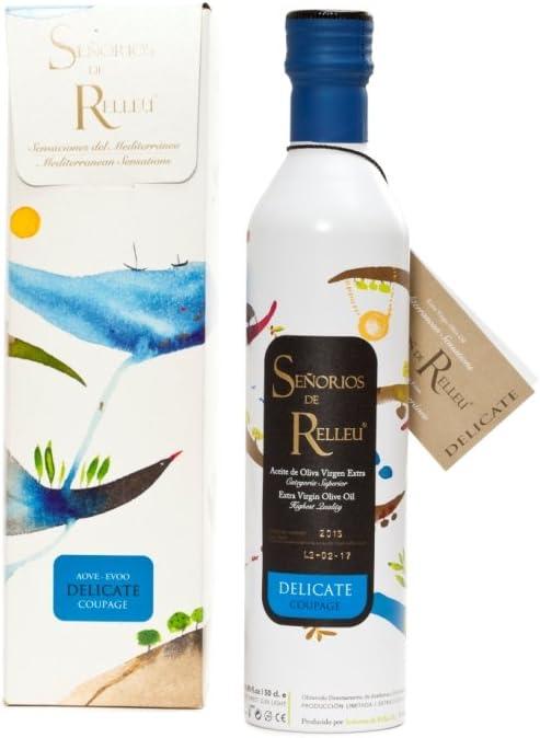 Estuche original Aceite de Oliva Virgen Extra Gourmet para regalo, sabor suave 500 ml. Coupage Arbequina: Amazon.es: Alimentación y bebidas