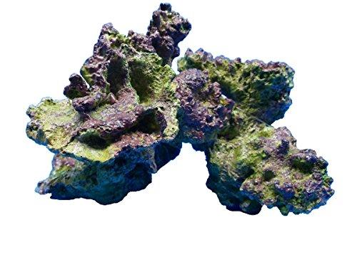 Live Rock Replica FantaSea TZH302 Realistic Polyresin Hand Painted Aquarium Ornament