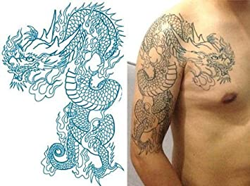 Joint Tatoo Tatouage Dragon Dragon Dragon Dragon Bras Surdimensionn