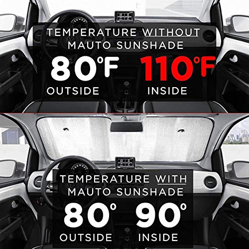 Front Car Sunshade Windshield Evergreen Fashion Happy St Patrick's Day Sun Shade for Car Foldable UV Ray Reflector Auto Front Window Sun Shade Visor Shield Cover, Keeps Vehicle Cool (55