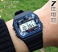 Casio F91W-1 Classic Resin Strap Digital...