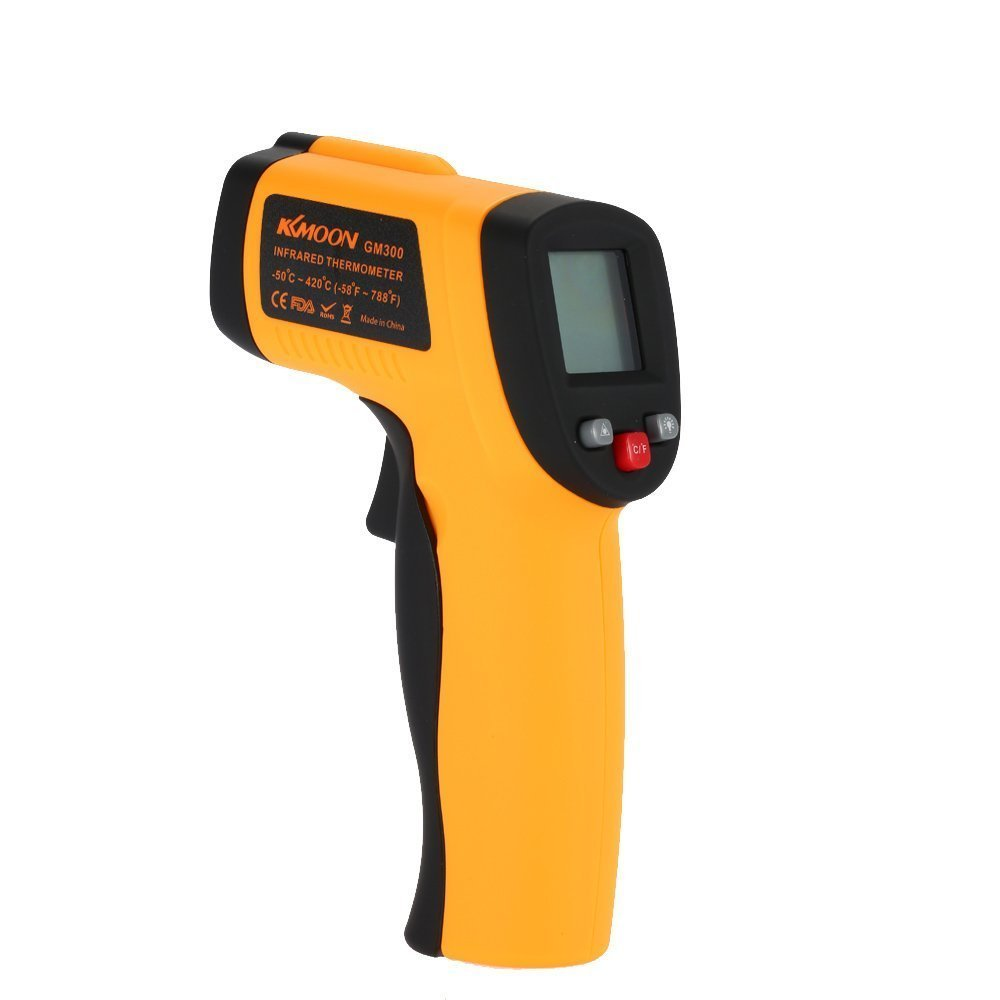 KKmoon Professional Grade Non-Contact LCD IR Infrared Digital Thermometer Laser Point Cason CA380