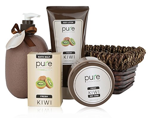 -Deluxe Spa Gift Basket. BEST Birthday Gift & Thank You Gift for Women ! Pure Bath & Body Gift Baskets are voted the #1 Gift for Men & Women!