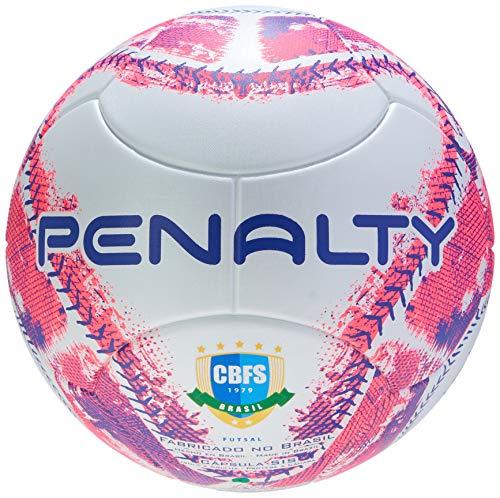 Bola Futsal Max 400 IX Penalty 64 cm Branco