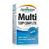 Best Multivitamins For Men - Jamieson 100% Complete Multivitamin for Men Review