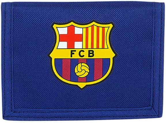 Cartera Billetera con Cabecera de FC Barcelona, 125x95mm