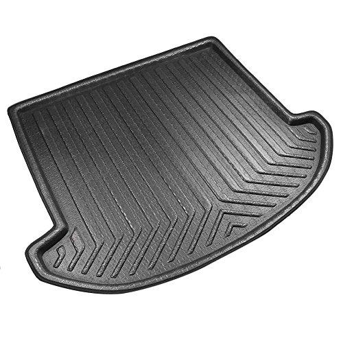 (Newsmarts Rubber Rear Trunk Cover Cargo Liner Floor Mat for Hyundai Santa Fe 2013-2018, 7 Seats Model)