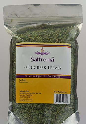 Dried Fenugreek Leaves by Saffronia