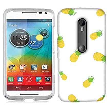 for Motorola Droid Turbo 2 Little Pineapples Phone Cover Case