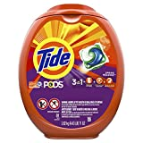 #8: Tide PODS 3 in 1 HE Turbo Laundry Detergent Pacs, Spring Meadow Scent, 81 Count Tub - Packaging May Vary