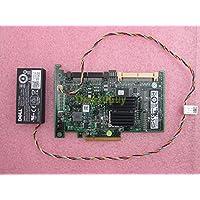 Dell T954J PERC 6/i SAS/SATA PCIe x8 RAID Controller Card + Battery 0NU289 FR463