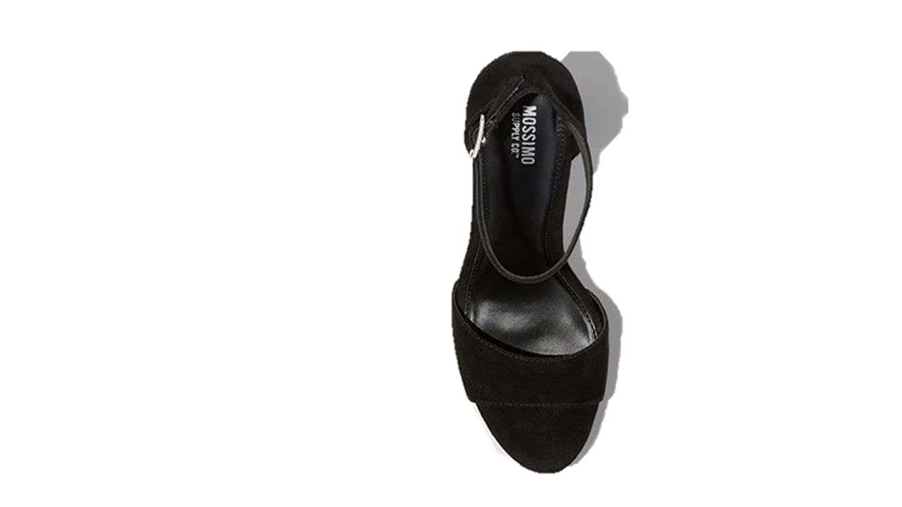 213b80ee3d Amazon.com | Mossimo Supply Co. Women's Fabiola Platform Heel Pumps in  Black Color and Size 7 | Shoes