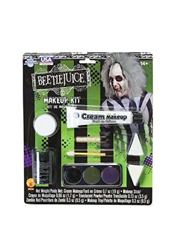 Beetlejuice Makeup - Rubie's Deluxe Beetlejuice Makeup Kit