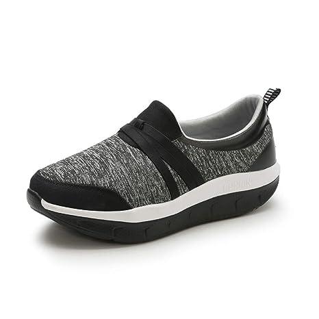 ffc5102b06cff Amazon.com: ASO-SLING Women Platform Wedge Sneakers Comfortable ...