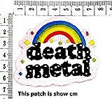 Death Metal Rainbow Stars Cute Cartoon Chidren Kids