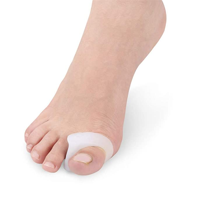 Separadores de Dedos Separadores de juanetes Espaciadores de Dedos de Gel Fantásticos para Hallux Valgus Hammer Toe Punta superpuesta Férula de corrección ...