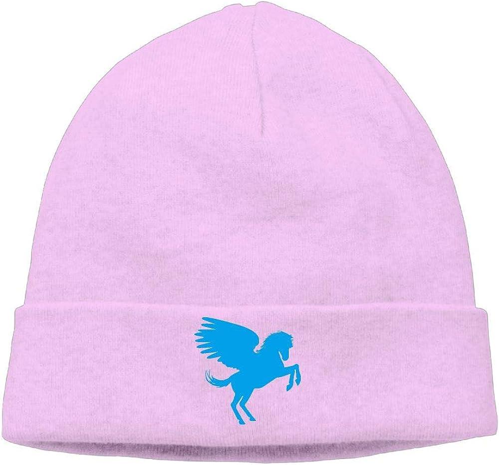 Cgi03T-2 Thick Knitting Hat for Men Women Pegasus Clipart Beanie Hat