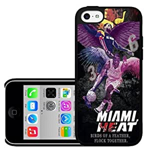 Miami Heat Colorful Purple,pink,yellow Hard Snap on Phone Case (iPhone 5c)