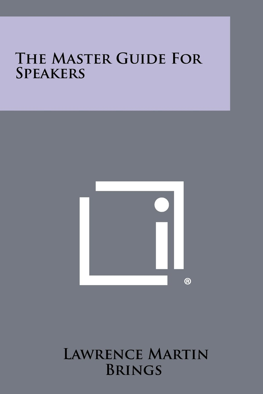 The Master Guide for Speakers ebook