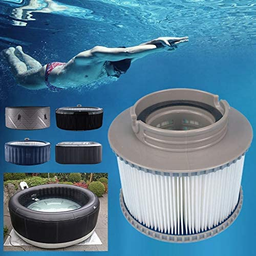Dcolor 6 X Filter for Mspa Filter Cartridge Fit Sweden Inflatable Spa Norway Switzerland France Inflatable Bath Replacement Filter Cartridge Bath