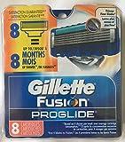 Gillette 8 Fusion Proglide Razor Blades NEW 8 PACK 100% AUTHENTIC, GENUINE NIB