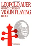Graded Course of Violin, Auer, Leopold, 0825802512