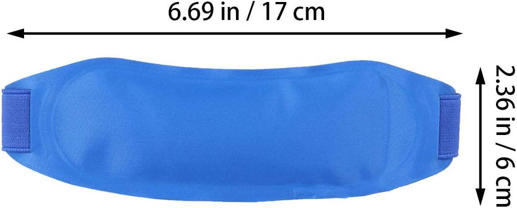 SUPVOX Raffreddamento fronte strisce fever fascia di raffreddamento ghiaccio gel caldo freddo pack pacchetto di raffreddamento fisico per adulti blu