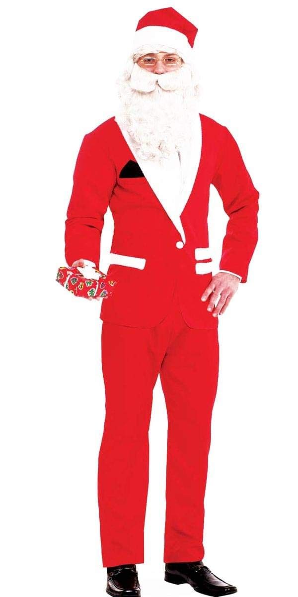 Simply Suited Santa Adult Costume Forum Novelties