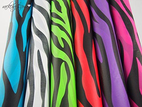 - rackcrafts.com Heavy Duty High Grade Plastic Table Covers - Zebra Safari 40