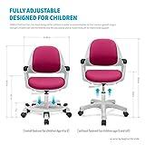 SitRite Kids Desk Chair Children Height Control