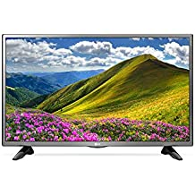 "LG 32LJ570 32"" HD Multi-System Smart Wi-Fi LED TV w/Free HDMI Cable, 110-240 Volts"