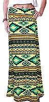 Izacu Flocc (TM) Womens Blending Retro Long Maxi Skirt Vintage Dress