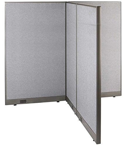 GOF T-Shaped Freestanding Partition 66d x 72w x 72h / Office, Room Divider by GOF