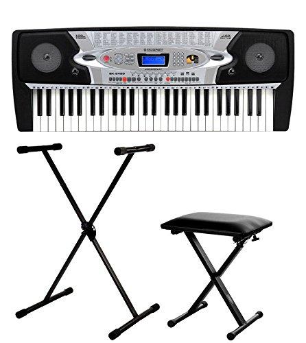 McGrey BK-5420 teclado para principiantes set incl. soporte + banqueta BK-5420Set1