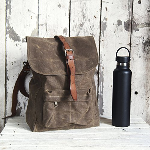 The Little Rogue Backpack by Peg and Awl