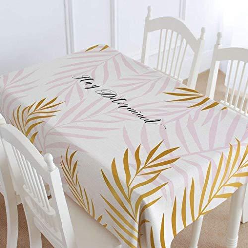 YI KUI Tablecloths Home Restaurant Rosa Small Fresh Tablecloth Coffee Table Tablecloth Rectangle Roundtable erdicken Drape Barbecue (Runde Rosa)