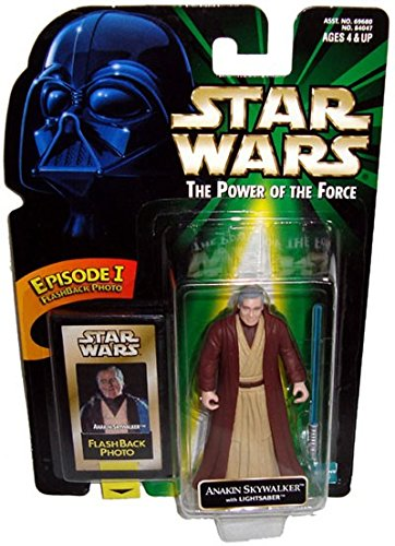 Star Wars 1998 POTF Flashback Anakin Skywalker Carded