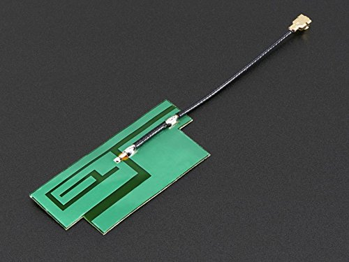 Adafruit Slim Sticker-type GSM/Cellular Quad-Band Antenna - 3dBi uFL [ADA1991] ()
