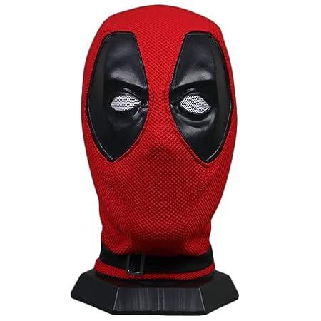 QQWE Deadpool Máscara Película DP Cosplay Hijos Adultos Disfraz de ...
